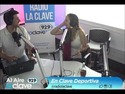 En Clave Deportiva - Radio La Clave - Cecilia Lagos y Francisco Eguiluz - Martes 10/03/2015