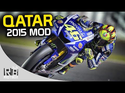 MotoGP 2015 Mod Gameplay: Qatar Race as Rossi