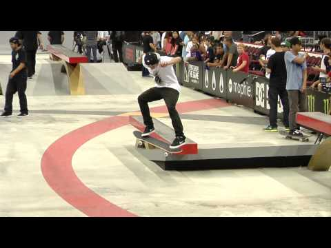 Street League 2012: Luan Oliveira Championship Practice Quick Clip