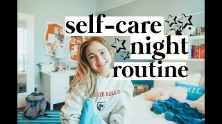 Self Care Night Routine at Home