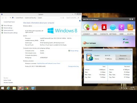 (SOLVED 100%) Micromax Dongle/Data cards not working in WINDOWS 8/8.1
