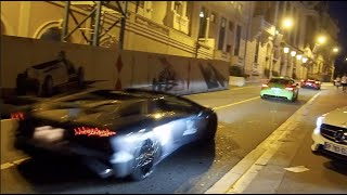 Supercars Club Arabia roaring past in Monaco - lovely sounds