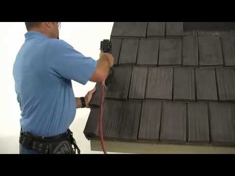 Bellafort Slate And Shake Installation Video Youtube