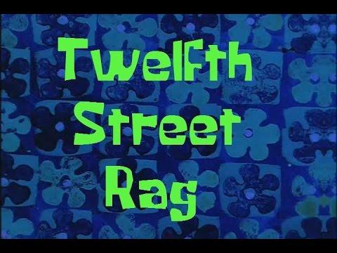 SpongeBob Production Music Twelfth Street Rag