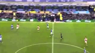 Sylvain Distin vs Arsenal