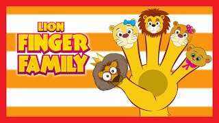 Finger Family Rhymes for Children (Lion Finger Family)