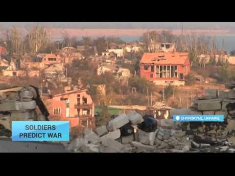 Ukraine Solders Predict Renewed Winter Fighting Near Shyrokyne: Ceasefire held along front line