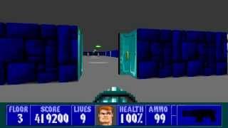 Wolfenstein 3D - Episode 1, Floor 3