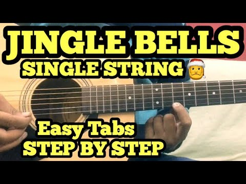 Jingle Bells Guitar Tabs/Lead Lesson | SINGLE STRING | Easy Chritsmas Song on Guitar 2017 | Hindi