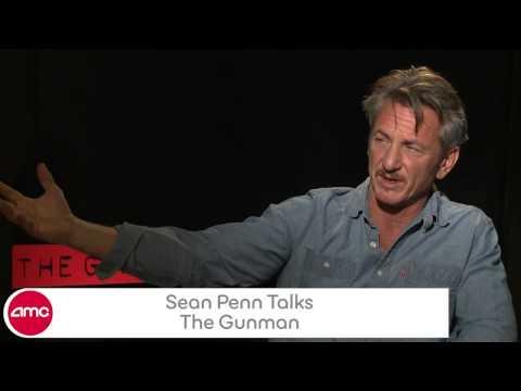 Sean Penn Chats THE GUNMAN - AMC Movie News