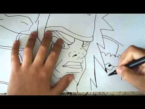 Jiraiya Sage Mode Drawing How to Draw Jiraiya Sennin