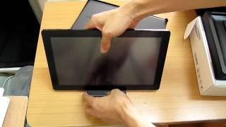 Unboxing Samsung Series 7 Slate PC.mp4