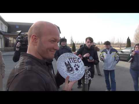 Как снимают сериал «Пес»: видео со съемочной площадки
