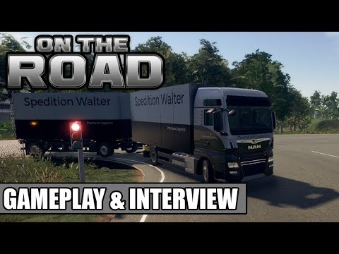 ON THE ROAD: Update 0.95 |  Gameplay & Interview von der Gamescom 2019