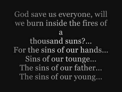 Linkin park - The Requiem Lyrics Video (A Thousand Suns)