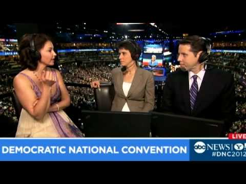 Ashley Judd on Her Delegate Experience at DNC 2012