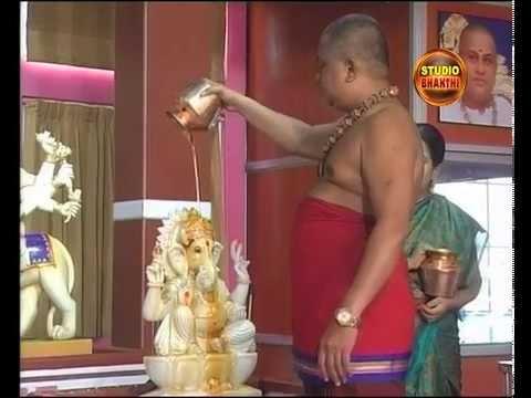 Abhishekam in Shirdi Sai Anugraha Peetam | Studio Bhakthi