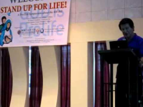 Roilo Golez, anti-RH forum, St. Mary College, Caloocan City, 18 June 2011-6