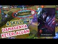 ZHASK HERO DAMAGENYA OP MUSUH LANGSUNG JADI DUIT - Mobile Legends Indonesia Gameplay MP3