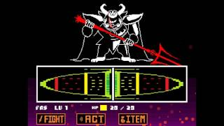Undertale - Asgore Boss Fight