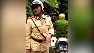 Phù Yên - Sơn La: CSGT chạy xe vào Bản, dân tộc lập BOT bắt trả 100K mới cho đi qua