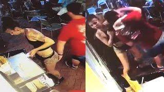 21-Year-Old Georgia Waitress Takes Down Customer Who Groped Her