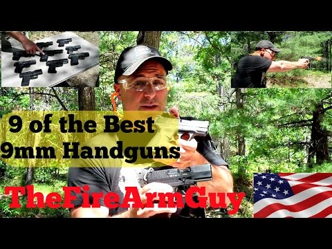 Best 9mm Handguns for Conceal Carry & Range Fun - TheFireArmGuy