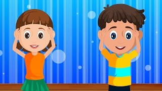 Head, Shoulders, Knees and Toes | Nursery Rhyme For Kids | Exercise Song