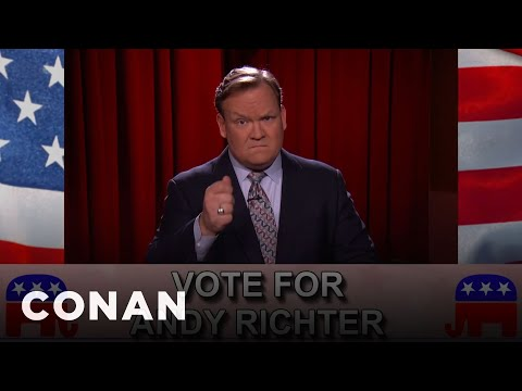 Andy Richter: Republican Presidential Nominee  - CONAN on TBS