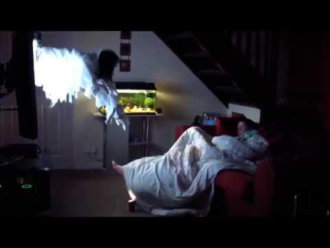 Страшный розыгрыш Призрак из телевизора