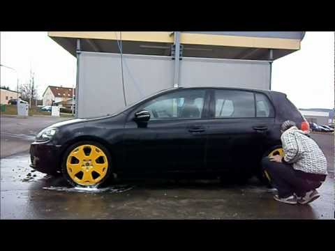 ✿ Plasti Dip The Proof: Cleaning (Powerwasher) plasti - diped Rims ✿