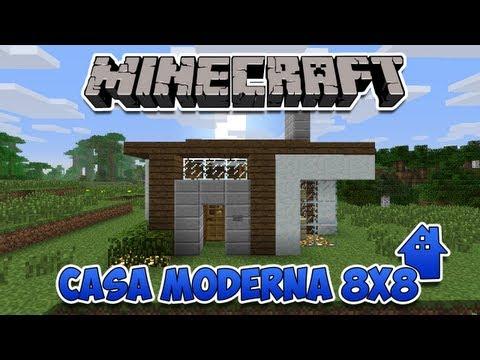 Minecraft: Desafio da Casa Moderna 8X8