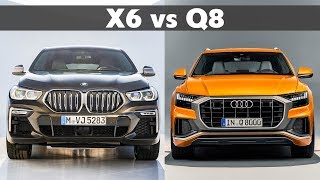 2020 BMW X6 vs 2019 Audi Q8 - Complete Comparison - Specs, Design & Sound