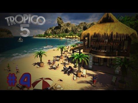 Tropico 5 - Gameplay ita - #4 Trappola per turisti!