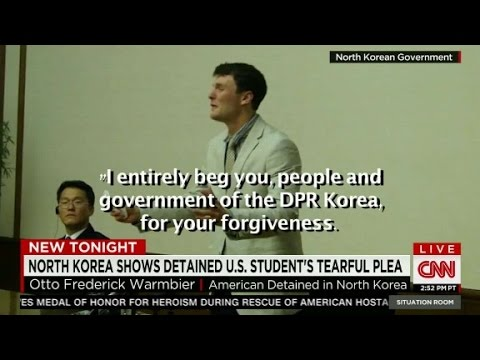 North Korea:detained American student speaks