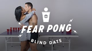 Blind Dates Play Fear Pong (Ella vs. Carlos) | Cut