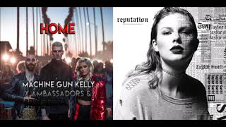 Download Lagu Home / Ready For It (Machine Gun Kelly ft. Ambassadors & Bebe Rexha / Taylor Swift) Concept Mashup Gratis STAFABAND