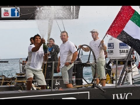 Volvo Ocean Race - Iberdrola Alicante In-Port Race Full Live Replay 2011-12