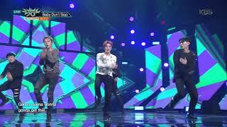 뮤직뱅크 Music Bank - Baby Don't Stop - NCT U.20180302