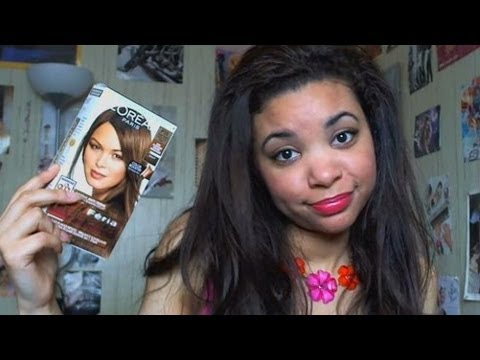 HAIR DYE FAIL ! - L'Oréal Feria Review