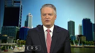 Fran Kelly interviews Finance Minister Mathias Cormann | Insiders