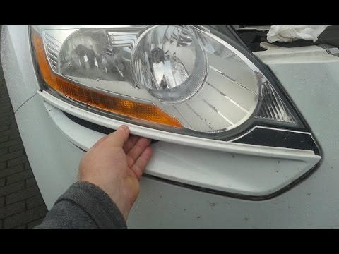 Замена лампочки в форд куга