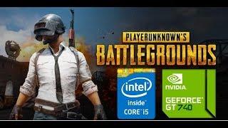 PLAYERUNKNOWN'S Battlegrounds (GT 740M/GT 825M/GT 920M) [Very Low]
