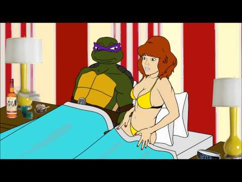 Cartoon Hook-ups: April & Donatello video