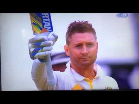 Michael Clarke's Test Century at Adelaide Oval - First Test - Australia vs India 2014/2015 HD