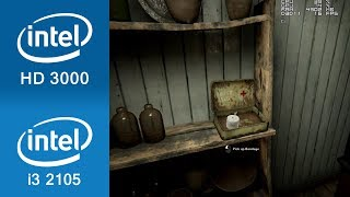 Outlast 2 Gameplay Intel HD 3000
