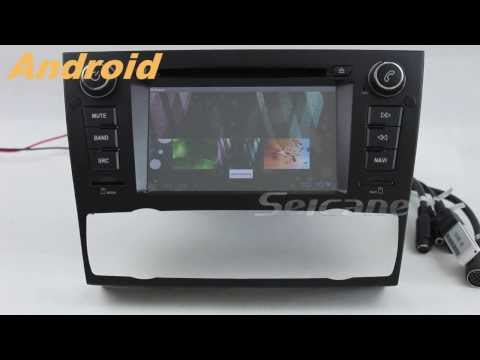 BMW E90 3 Series Saloon Android DVD player radio GPS navigation system