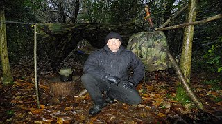 Survival A-Frame Wet Weather Basha & Swedish Army Trangia Stew Cooking