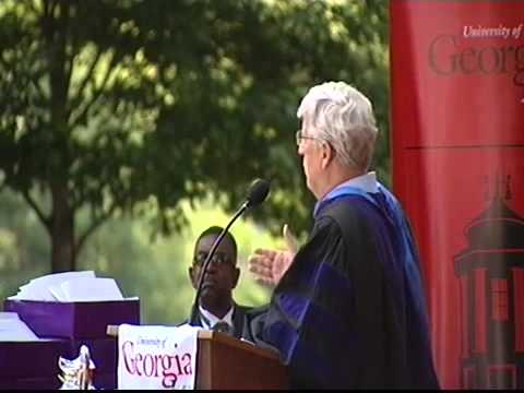 Class of 2010 Commencement with Walter Dellinger