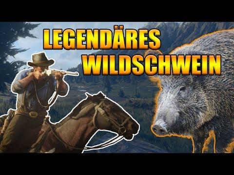Legendäres Wildschwein Red Dead Redemption 2 - Legendäre Tiere jagen